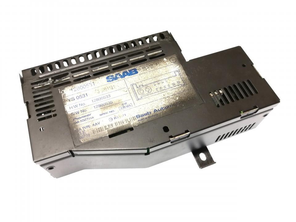 Garso stiprintuvas (audio) 12800531 12800533, 12800535 SAAB 9-3 2005 2.0