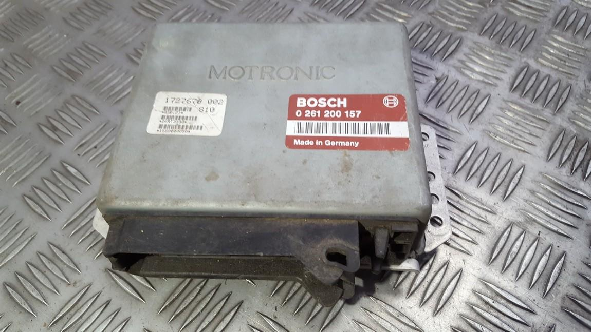 Блок управления двигателем 0261200157 1727678002 BMW 3-SERIES 2000 2.0