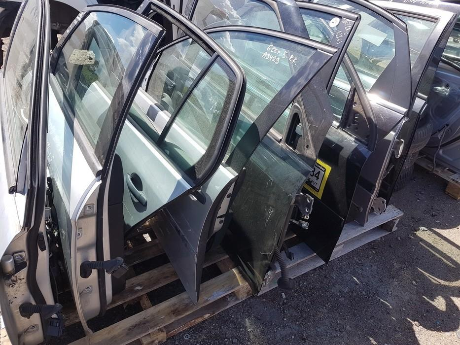 Doors - front right side JUODOS USED Opel VECTRA 1998 2.0