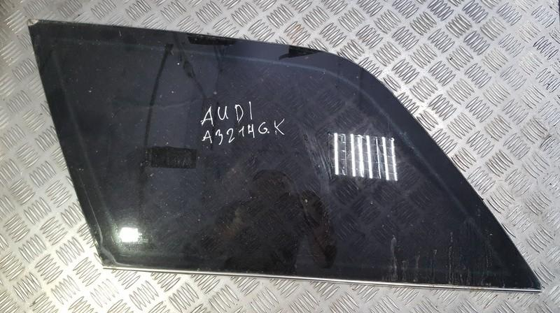 Door-Drop Glass rear left used used Audi 80 1992 2.0