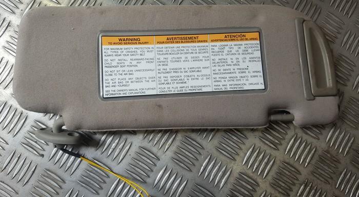 Apsauga nuo saules USED USED Daewoo EVANDA 2003 2.0