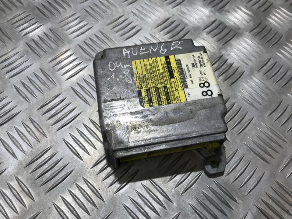 SRS AIRBAG KOMPIUTERIS - ORO PAGALVIU VALDYMO BLOKAS 208623106 208623-106, 89170-05160, 88 Toyota AVENSIS 2001 2.0
