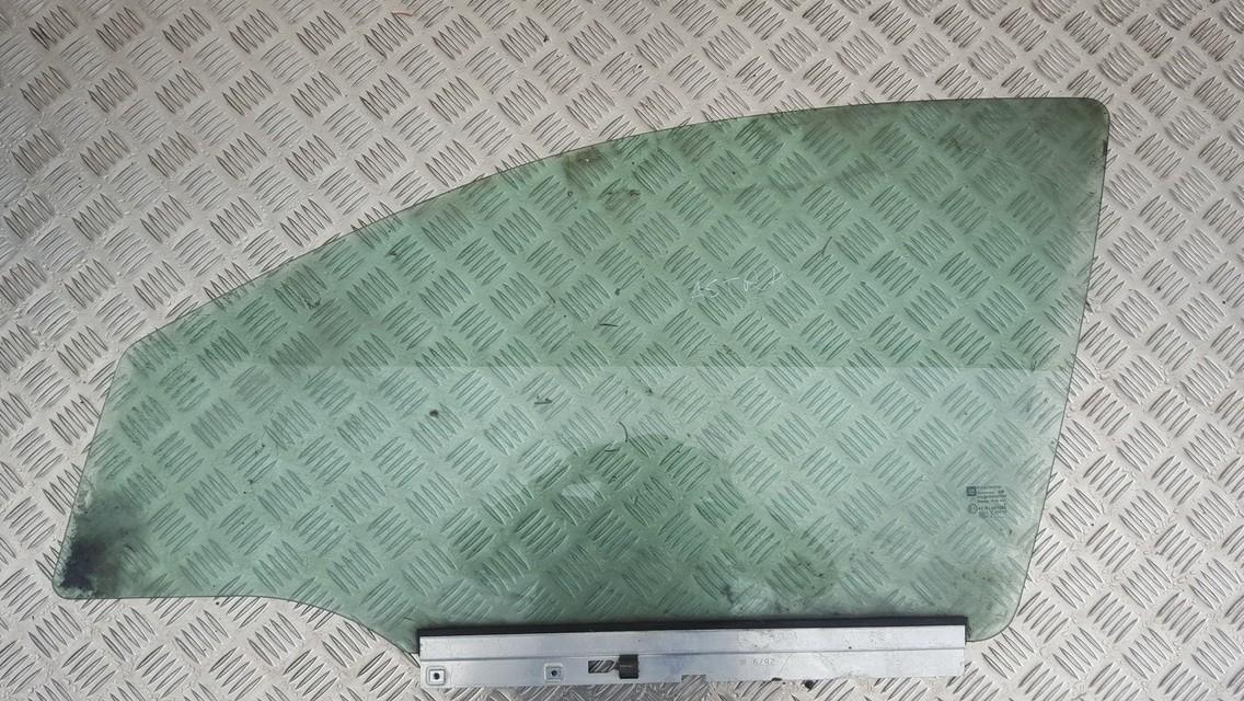 OPEL ASTRA H (L48) Priekinių kairių durų stiklas 4640967