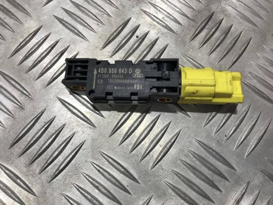Srs Airbag daviklis 4b0959643d 011244040805 Audi A8 1998 3.7
