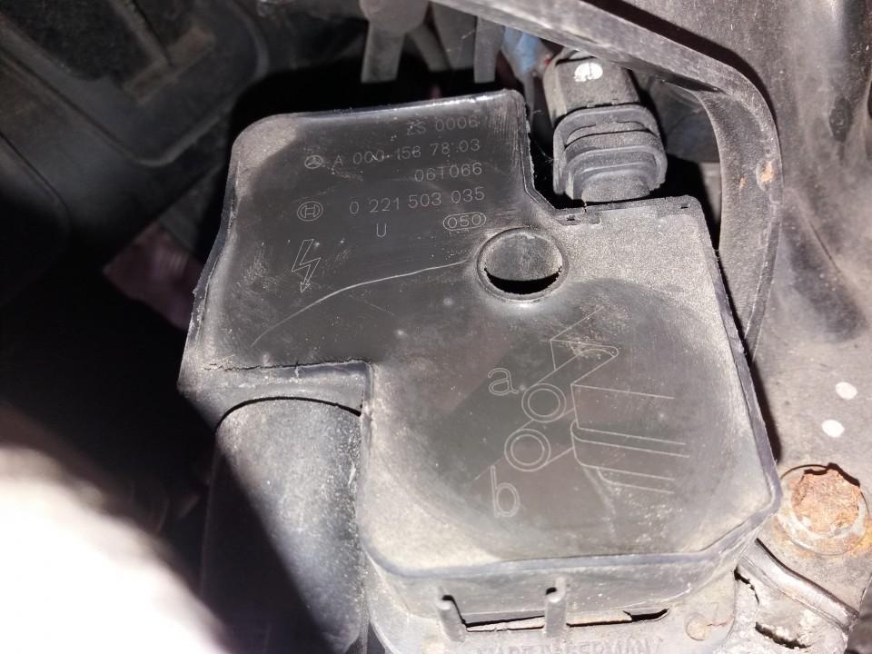 Uzdegimo rite (babina) 0221503035 A0001587803 Mercedes-Benz A-CLASS 2001 1.4