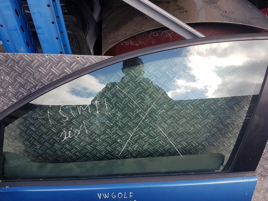 Door-Drop Glass front left USED USED Volkswagen GOLF 1999 1.9