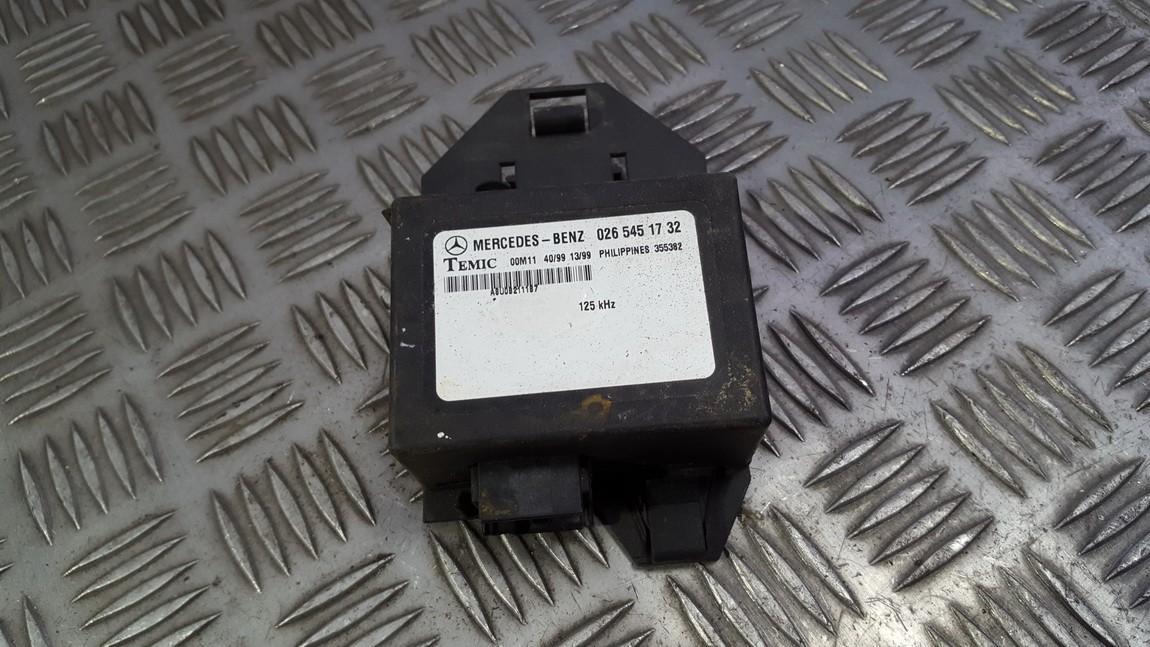 Imobilaizerio kompiuteris 0265451732 355382 Mercedes-Benz VITO 1998 2.3