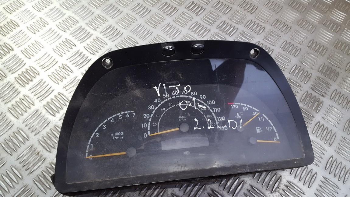 Spidometras - prietaisu skydelis a0014464021 used Mercedes-Benz VITO 2006 2.2