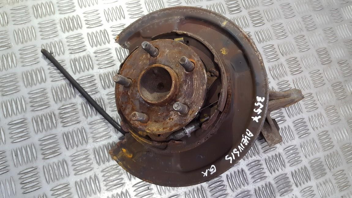 Stabdziu disko apsauga galine kaire (G.K.) used used Toyota AVENSIS 2005 2.0