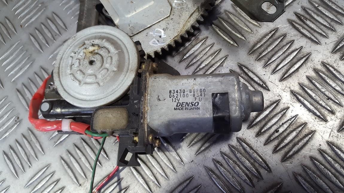 Duru lango pakelejo varikliukas P.D. 8343080f00 83430-80f00, 062100-8341, 0621008341 Suzuki BALENO 1997 1.3