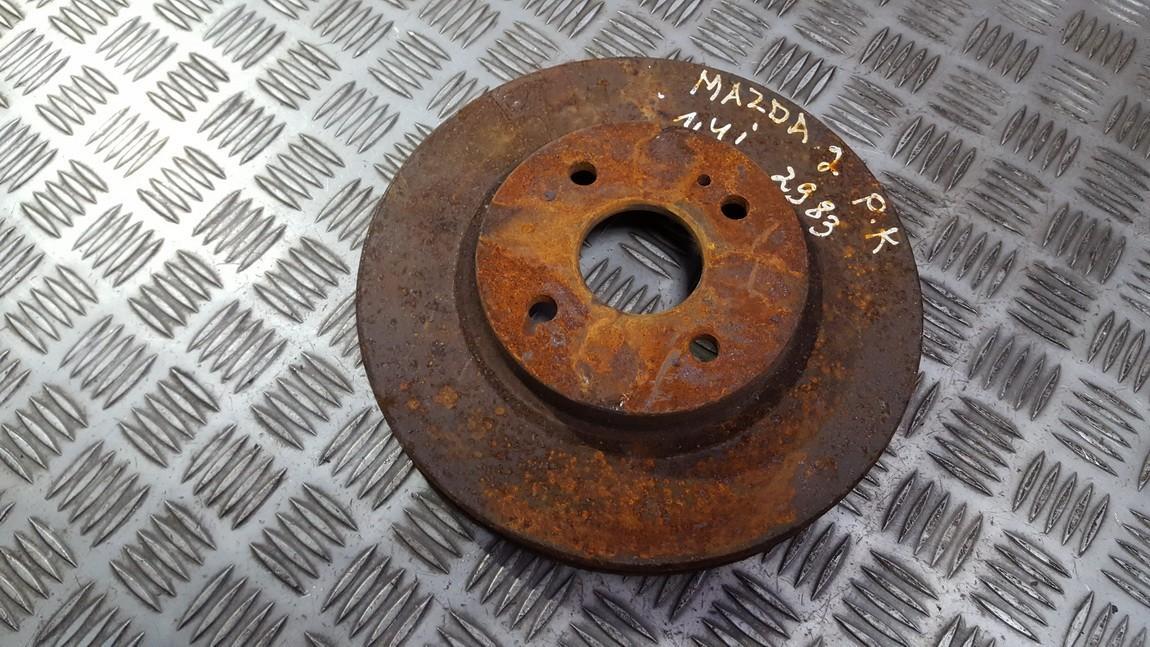 Priekinis stabdziu diskas used used Mazda 2 2009 1.5