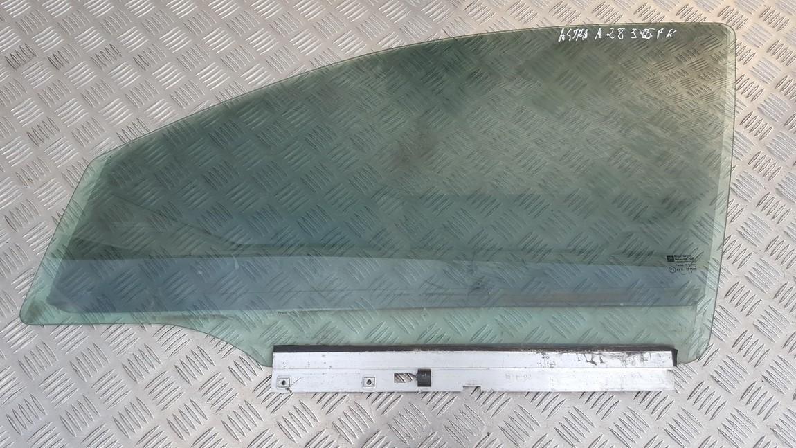 OPEL ASTRA H (L48) Priekinių kairių durų stiklas 4644716