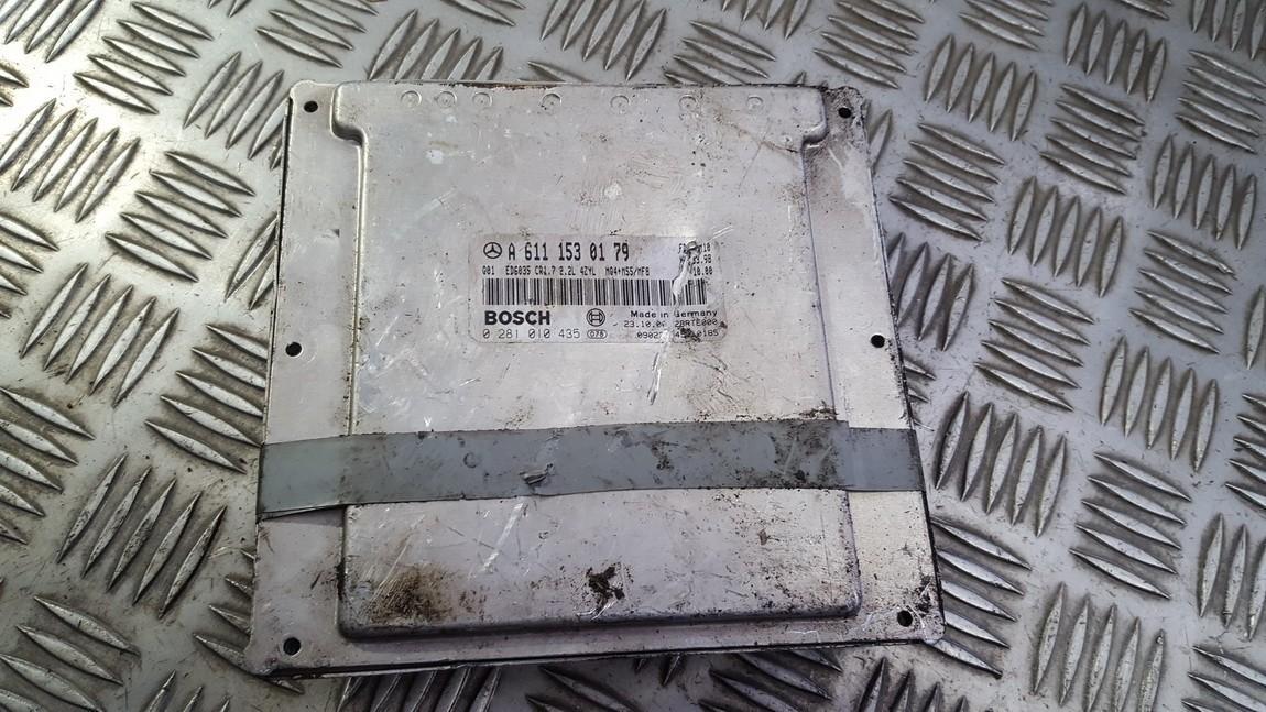 Variklio kompiuteris a6111530179 0281010435 Mercedes-Benz VITO 1998 2.3