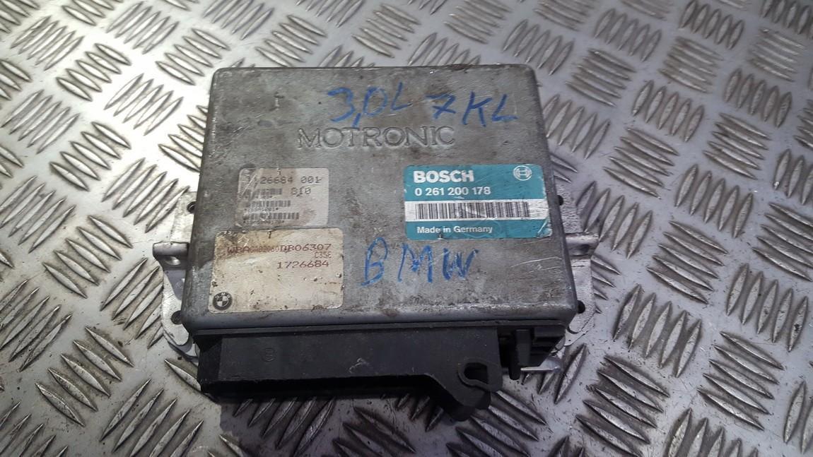 Variklio kompiuteris 0261200178 1726684 BMW 5-SERIES 2011 2.0
