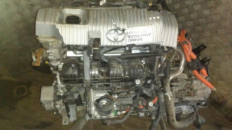 Variklis 2ZRFXE USED Toyota AURIS 2008 2.0