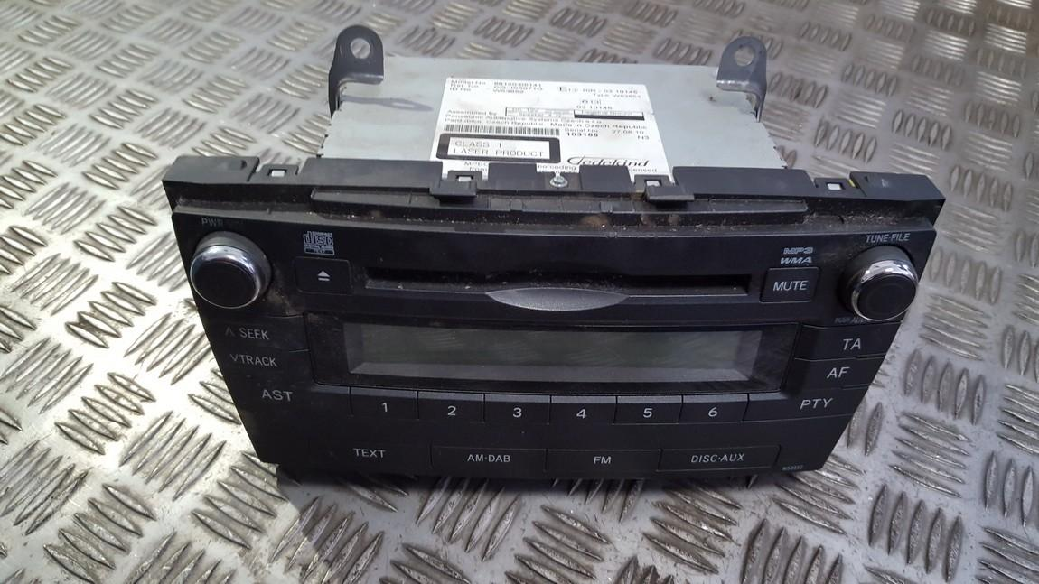 Automagnetola 8612005141 86120-05141 w53852 Toyota AVENSIS 2008 1.8