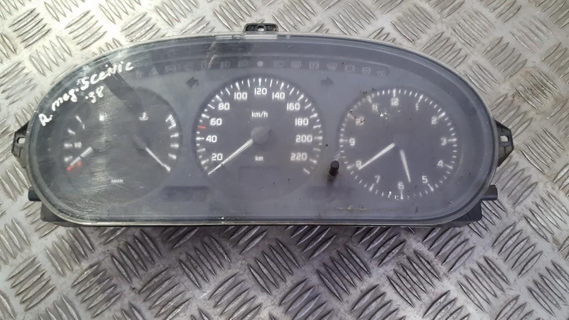 Spidometras - prietaisu skydelis 215781612 21578161-2 Renault SCENIC 1997 1.6