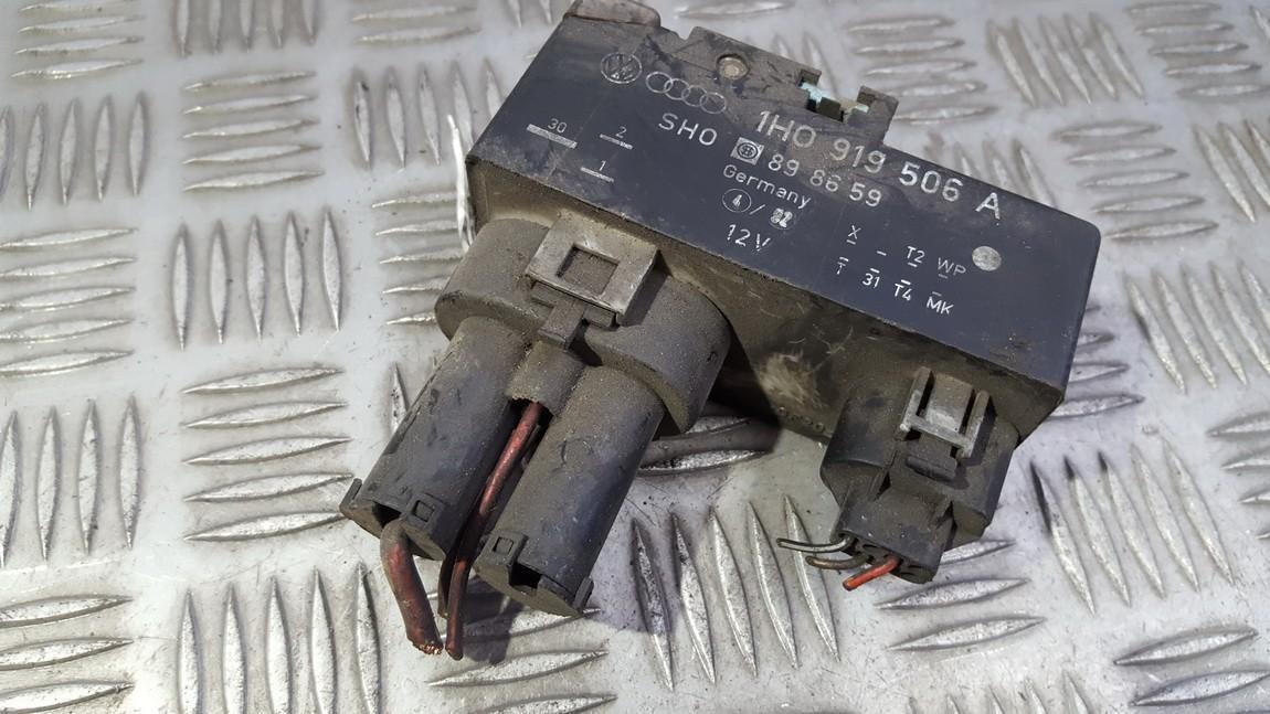 Ventiliatoriaus valdymo rele 1H0919506A 898659 Volkswagen GOLF 1992 1.4