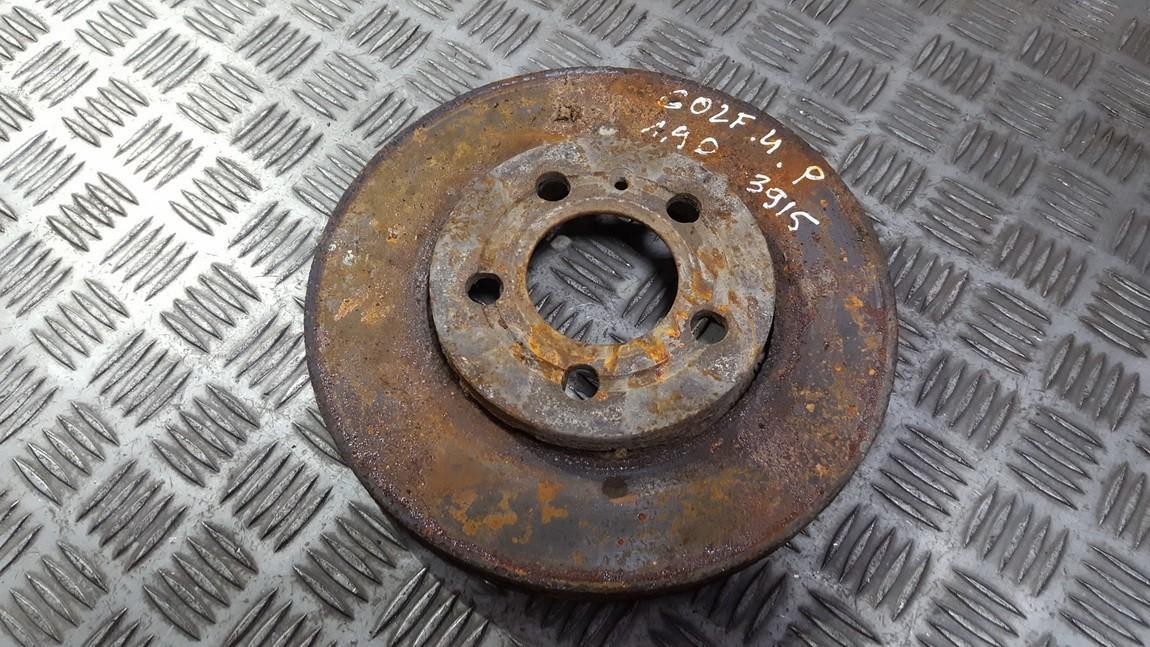 Priekinis stabdziu diskas used used Volkswagen GOLF 1994 1.9