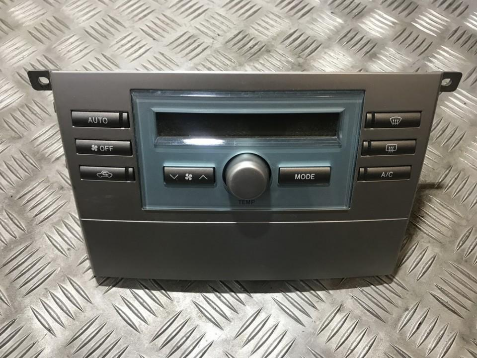 Toyota  Corolla Verso Climate Control Panel (heater control switches)