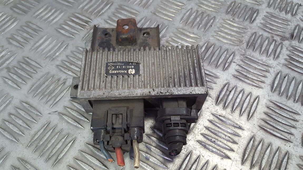 Glow plug relay 7700111525 used Renault SCENIC 1998 1.6