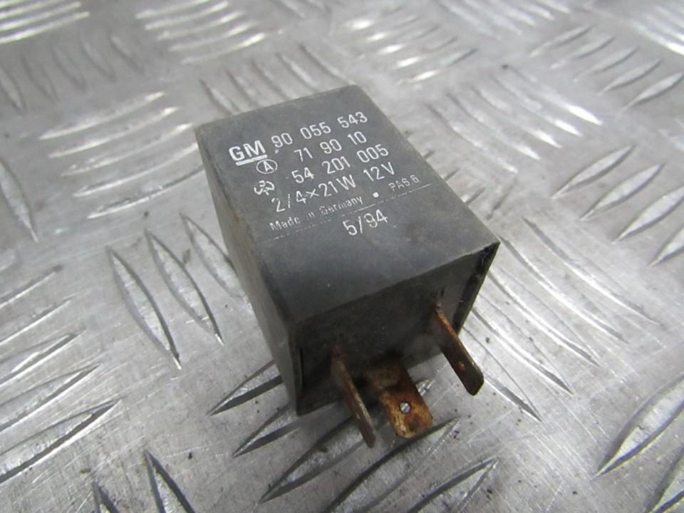 Relay module 90055543 54201005 Opel CORSA 2008 1.3