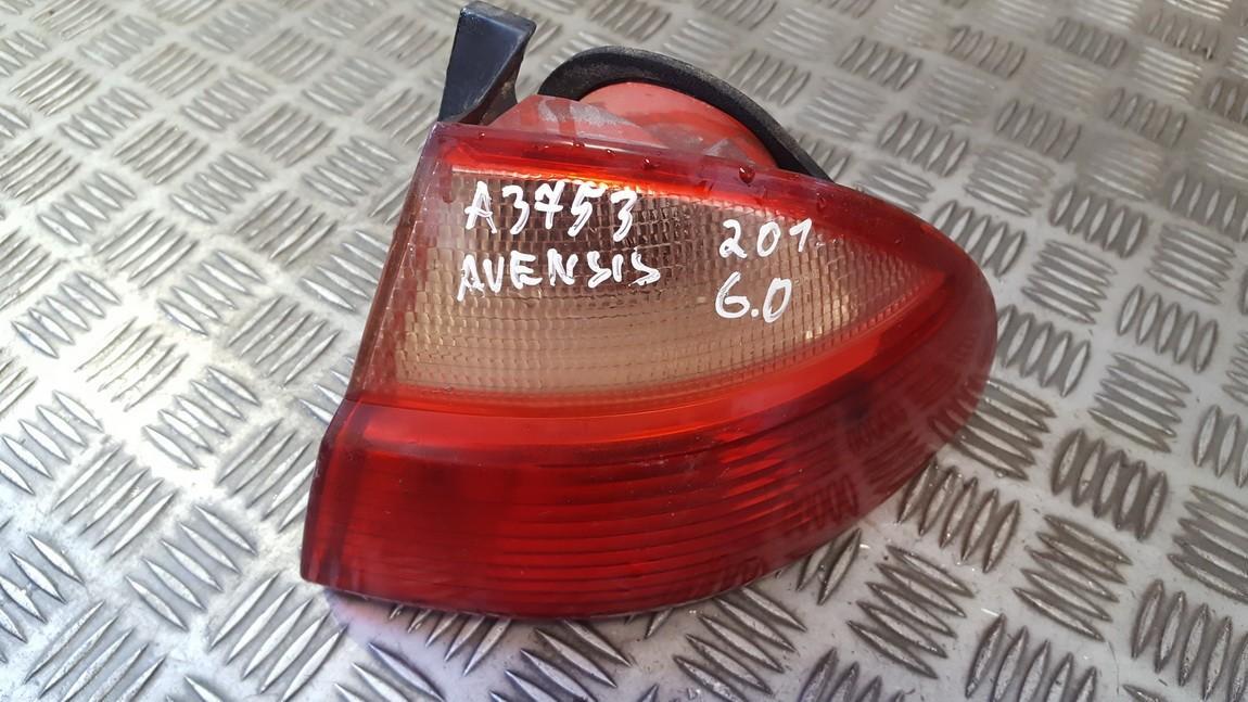 Фонарь задний наружный правый used used Toyota AVENSIS 2003 1.8