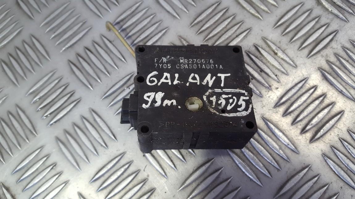 Peciuko sklendes varikliukas MR270676 CSA501A001A Mitsubishi GALANT 1998 2.5