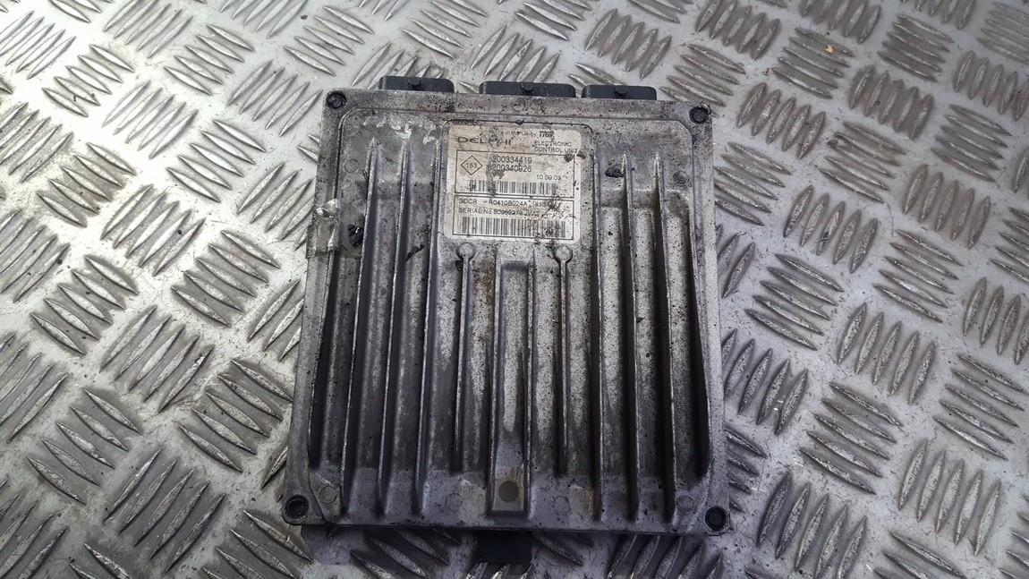 Variklio kompiuteris 8200334419 8200340926 Renault MEGANE 2009 1.6