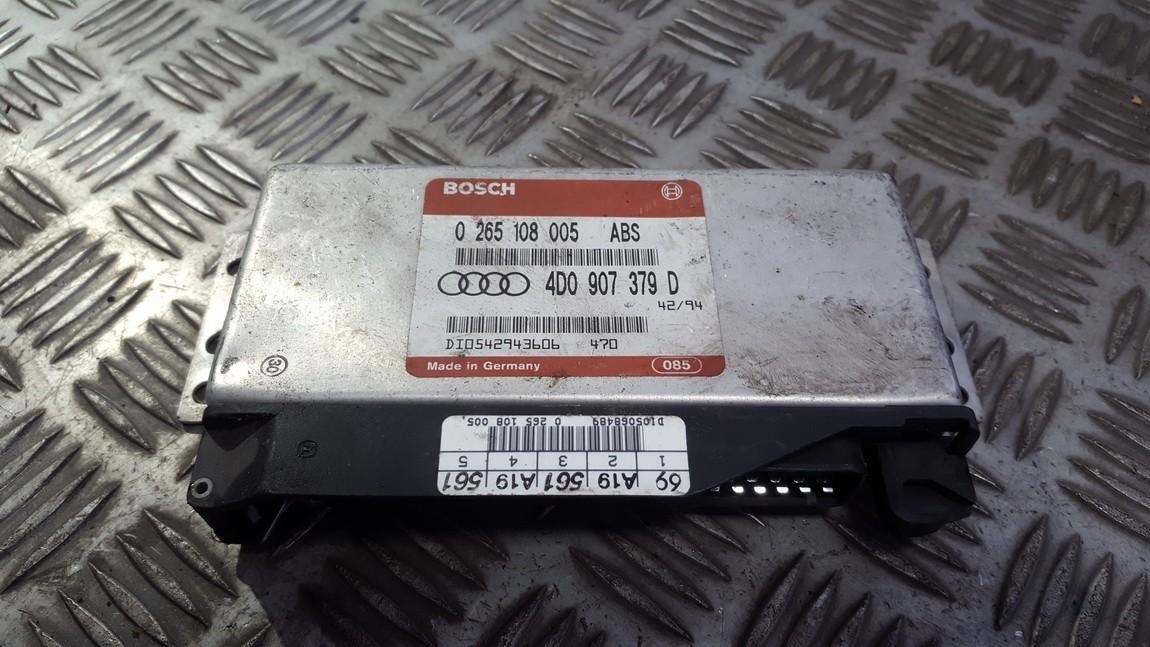 ABS Computer 4d0907379d 0265108005 Audi A4 1995 1.8