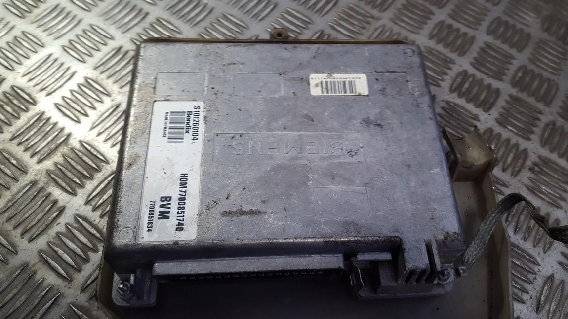 Variklio kompiuteris hom7700851740 7700851634 s101260104a Renault ESPACE 1993 2.2
