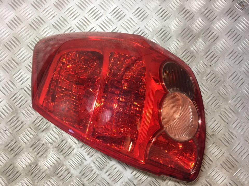 Galinis Zibintas G.K. USED USED Toyota AURIS 2006 2.0