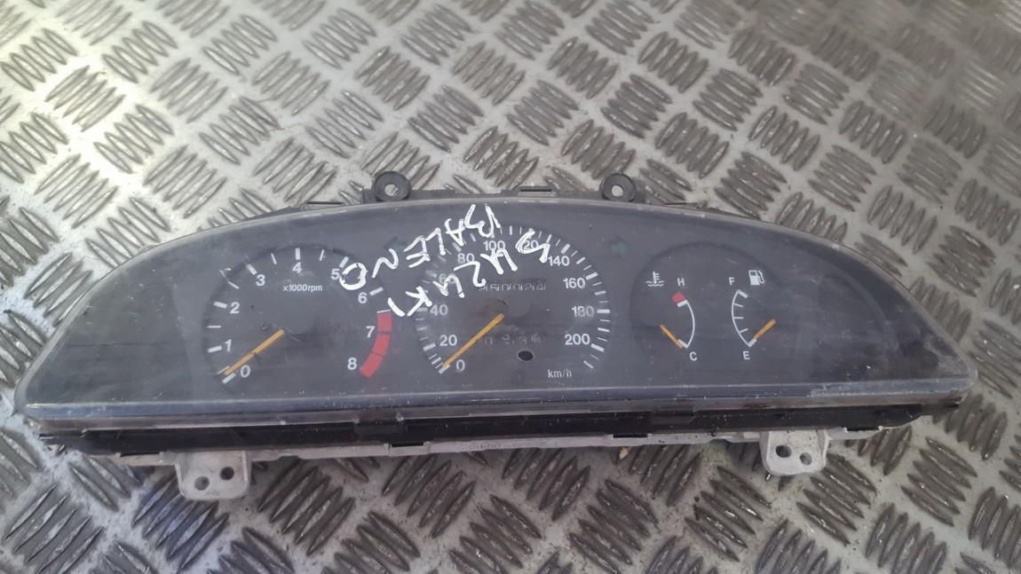 Spidometras - prietaisu skydelis 3410060g40 34100-60g40 Suzuki BALENO 1997 1.3