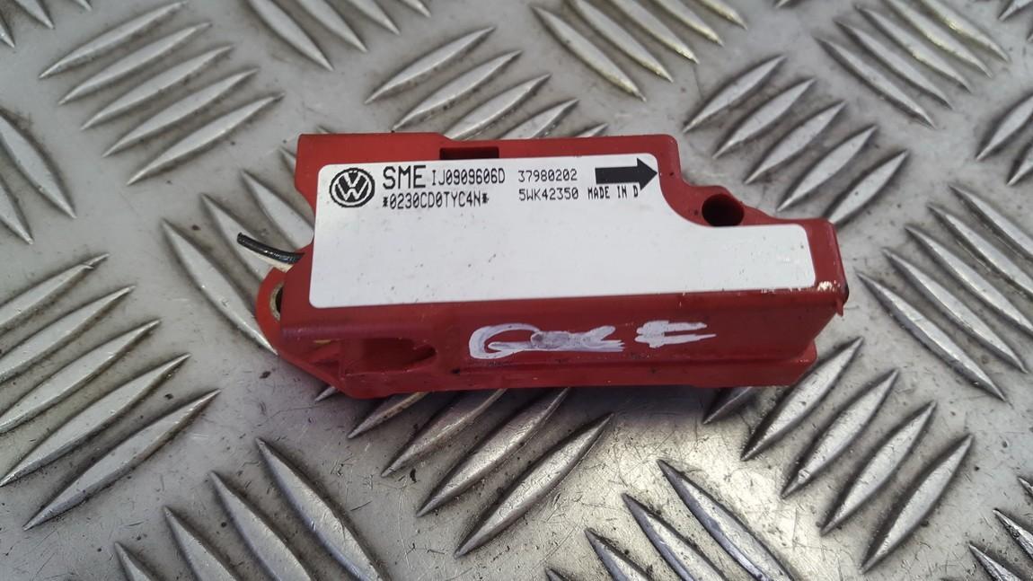 Srs Airbag daviklis 1j0909606d 37980202, 5wk42350 Volkswagen GOLF 1994 1.6