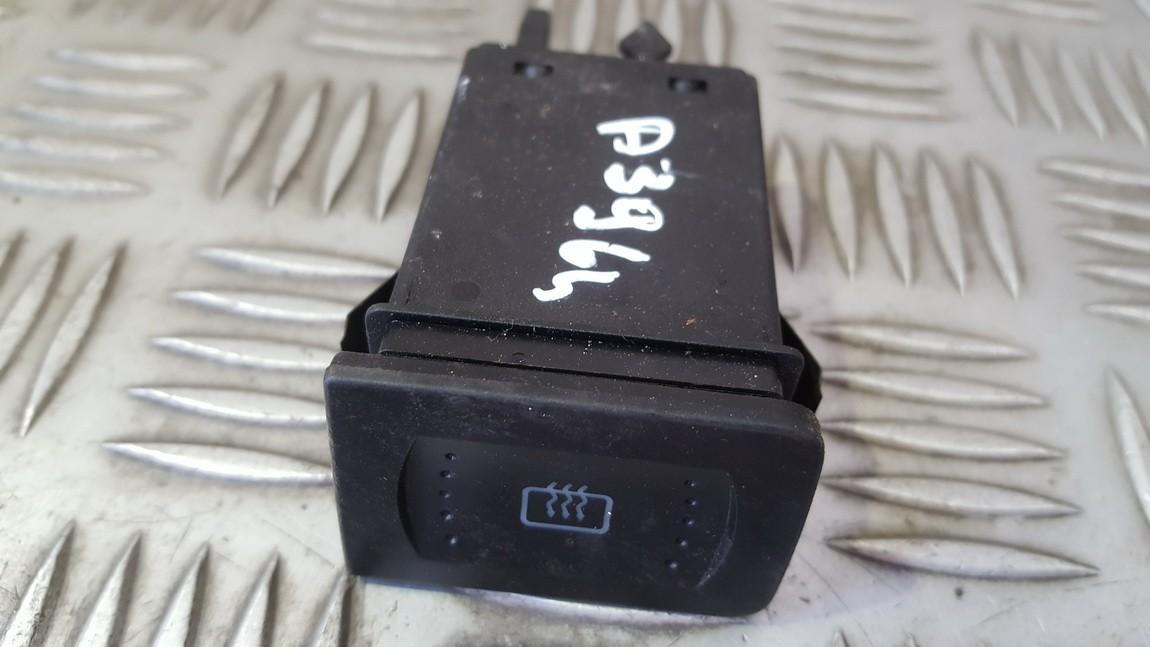 Heated screen switch (Window Heater Switch) 1J0953235A 1J0953235G Volkswagen GOLF 1999 1.9