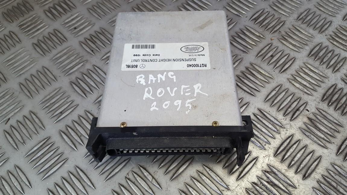 AIR SUSPENSION CONTROL MODULE AIRMATIC Land-Rover Range Rover 1999    4.6 RQT100040
