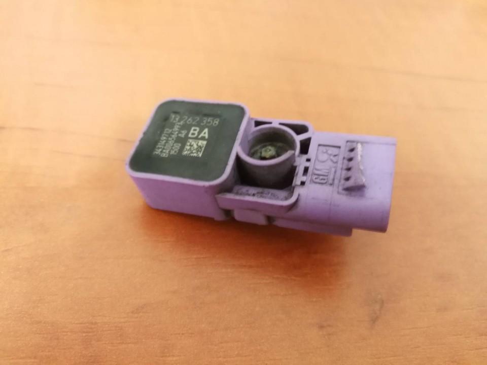 Srs Airbag crash sensor 13262358 343149712, BA Opel CORSA 2008 1.3
