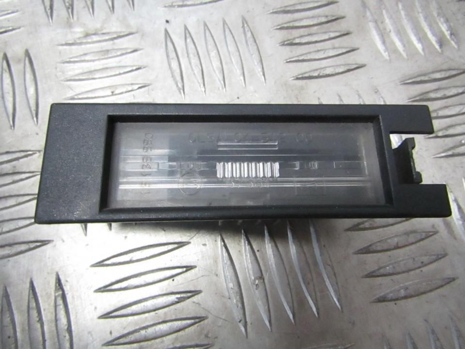 Фонарь подсветки номера 13139990 USED Opel ASTRA 1998 2.0