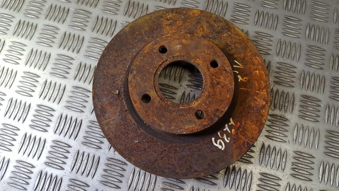 Priekinis stabdziu diskas used used Ford FIESTA 2009 1.3