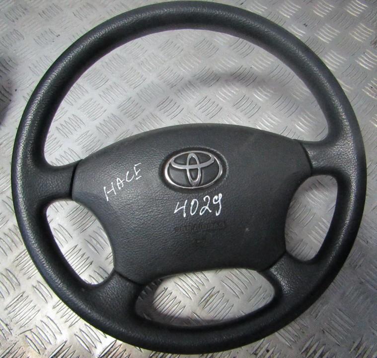 Руль 4518758010A 45187-58010A Toyota HIACE 2008 2.5