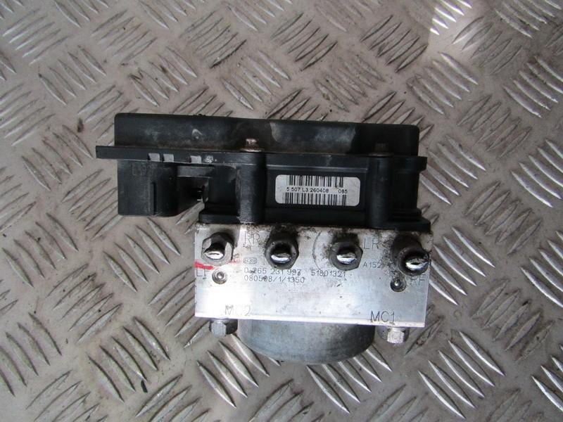 ABS blokas 0265231997 51801321, 0265800662 Fiat FIORINO 2008 1.3