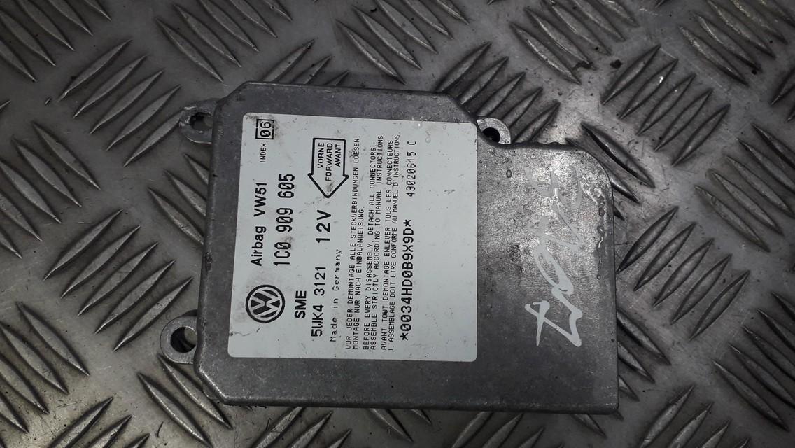 Блок управления AIR BAG  1C0909605 5WK43121 Volkswagen SHARAN 2003 1.9