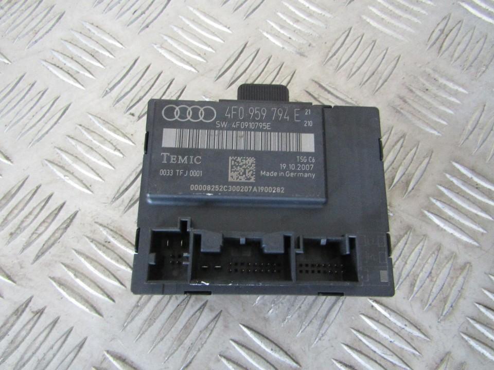 Audi  A6 Kiti kompiuteriai