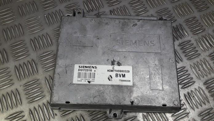 Блок управления двигателем 7700862206 HOM7700860329 Renault ESPACE 1990 2.1