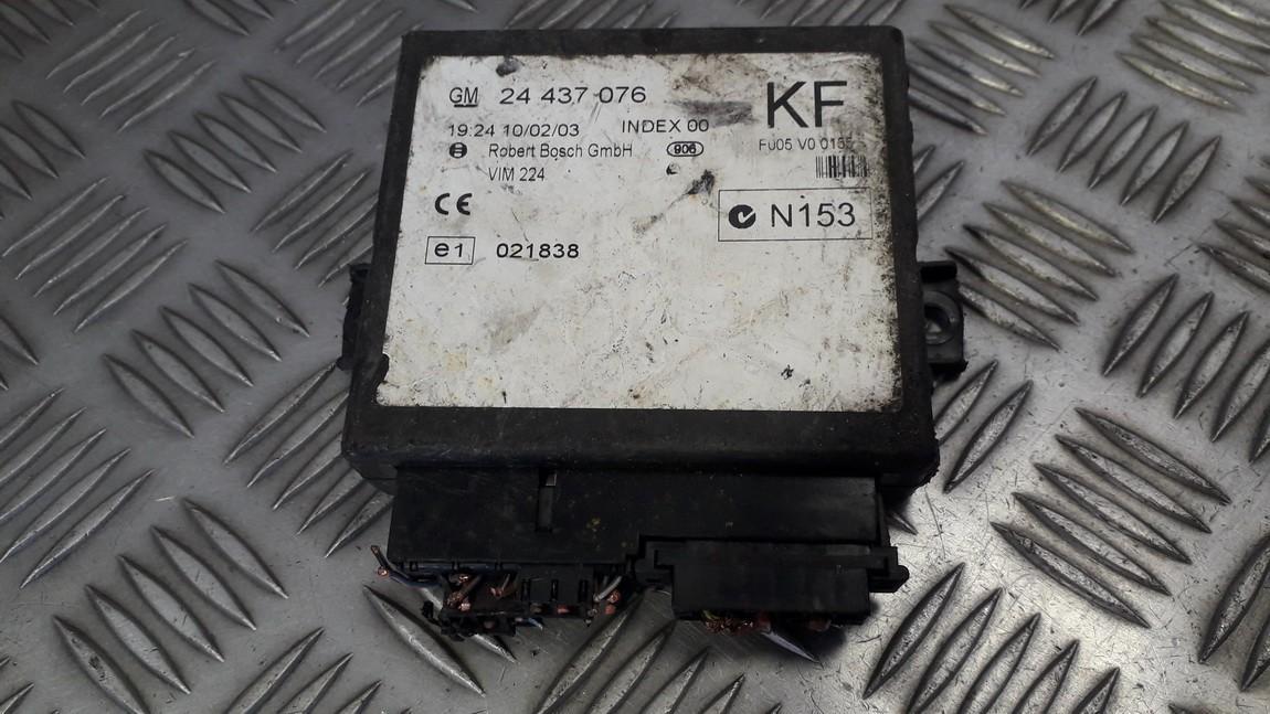 General Module Comfort Relay (Unit) 24437076kf f005v00155 Opel ASTRA 1998 1.7
