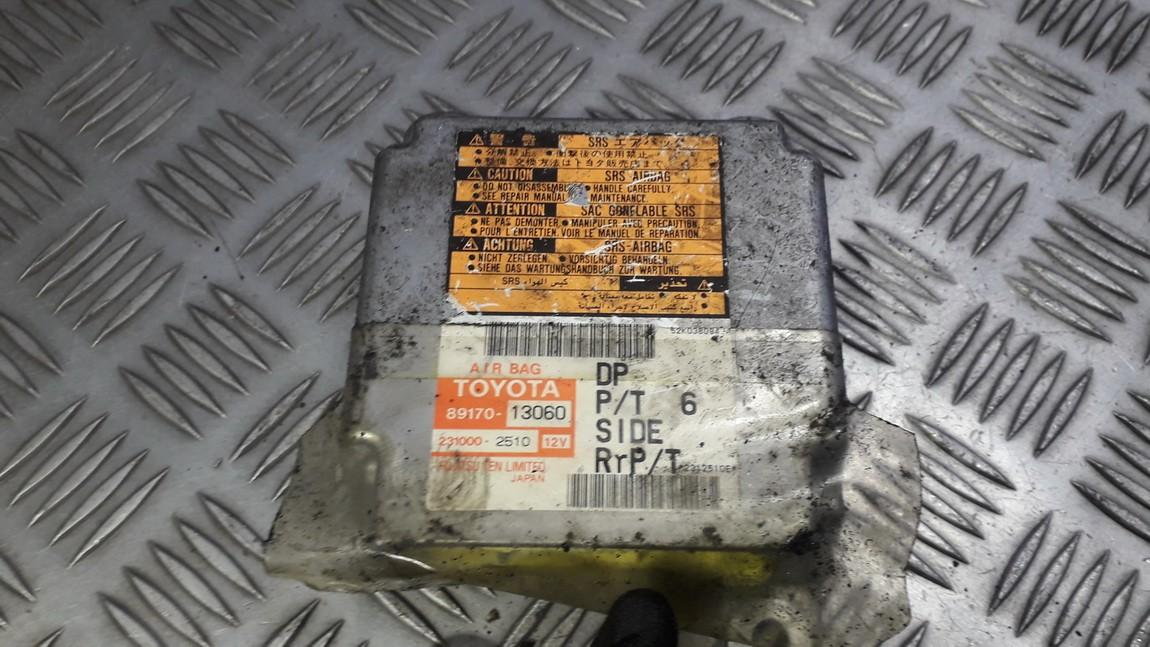 Airbag crash sensors module 8917013060 89170-13060, 231000-2510, 2310002510 Toyota COROLLA VERSO 2005 1.8