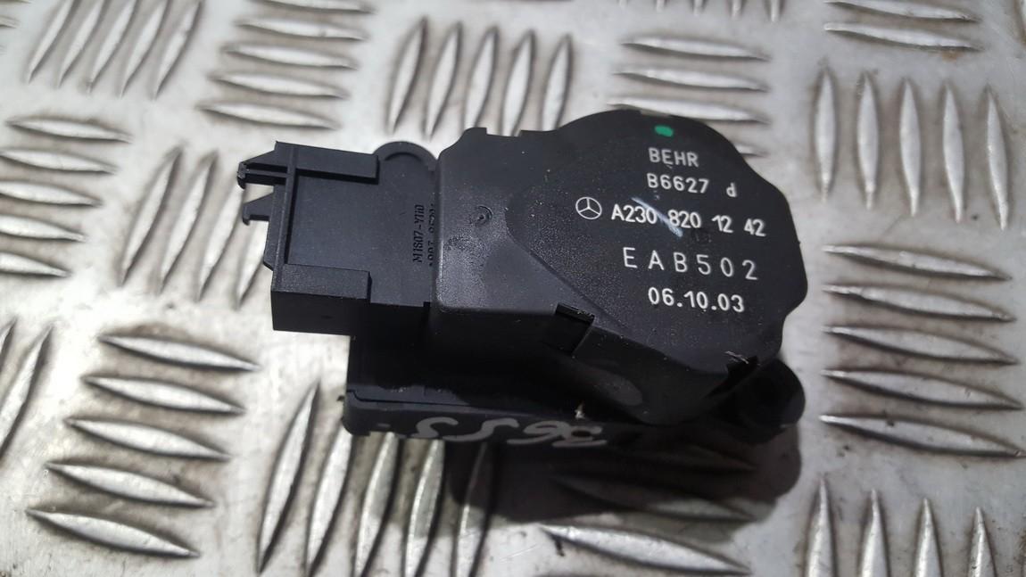 Peciuko sklendes varikliukas A2308201242 EAB502 Mercedes-Benz CLK-CLASS 2003 1.8