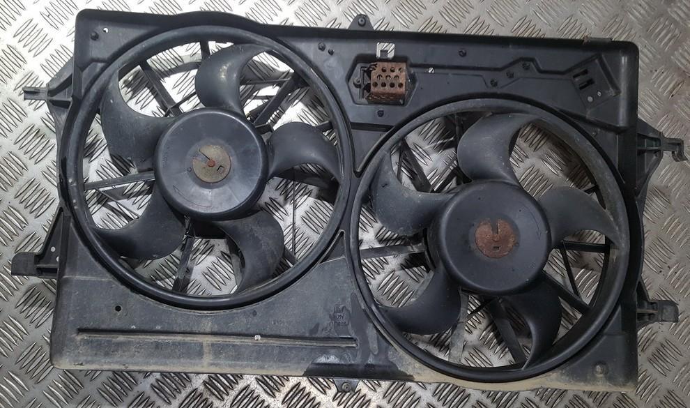Difuzorius (radiatoriaus ventiliatoriaus) 4569632 313510333 Ford FOCUS 2001 1.8