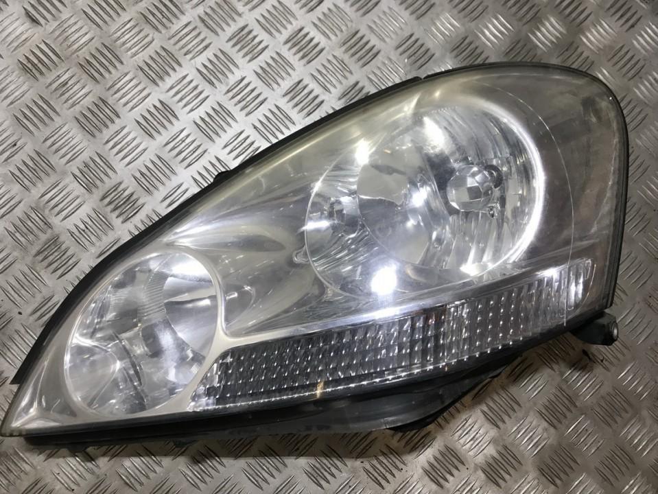 Основная фара - передний левый used used Toyota AVENSIS VERSO 2001 2.0