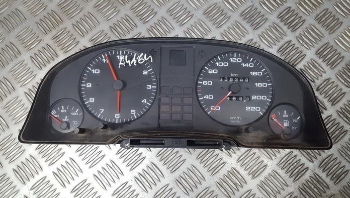 Spidometras - prietaisu skydelis 893919067 88311113 Audi 80 1989 1.8